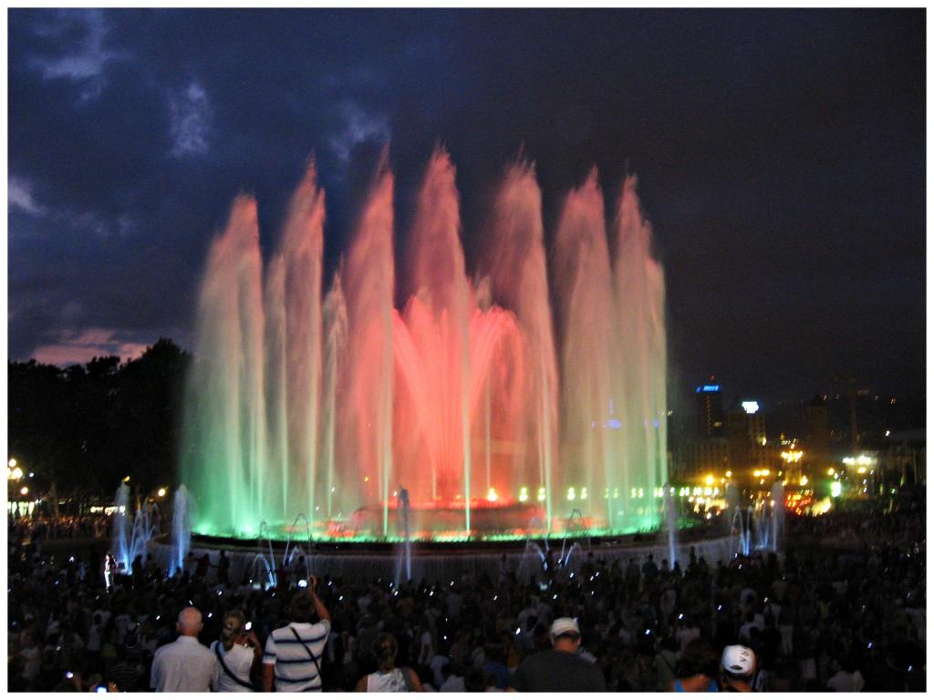 Волшебный фонтан в Барселоне