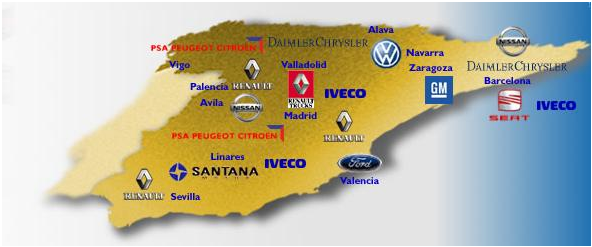 Производитель авто в Испании