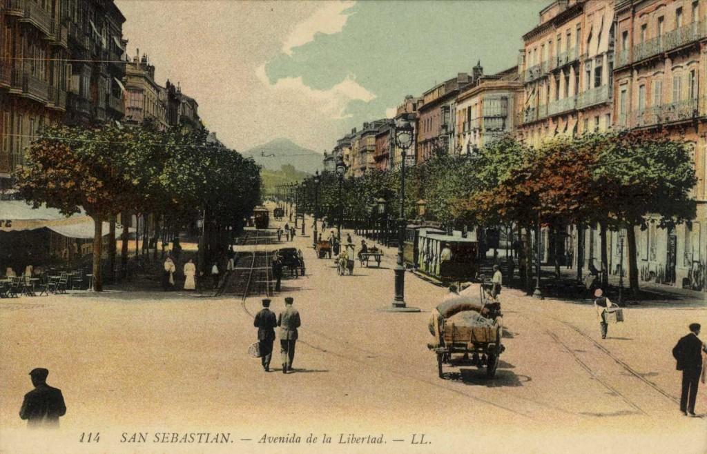 Бульвар Свободы Сан Себастьян