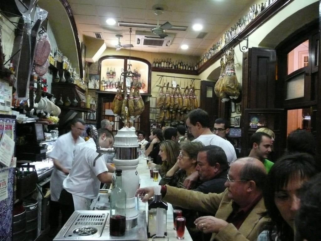 Тапас-бар в Испании