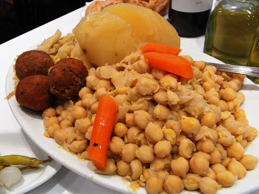 Испанские блюда Косидо