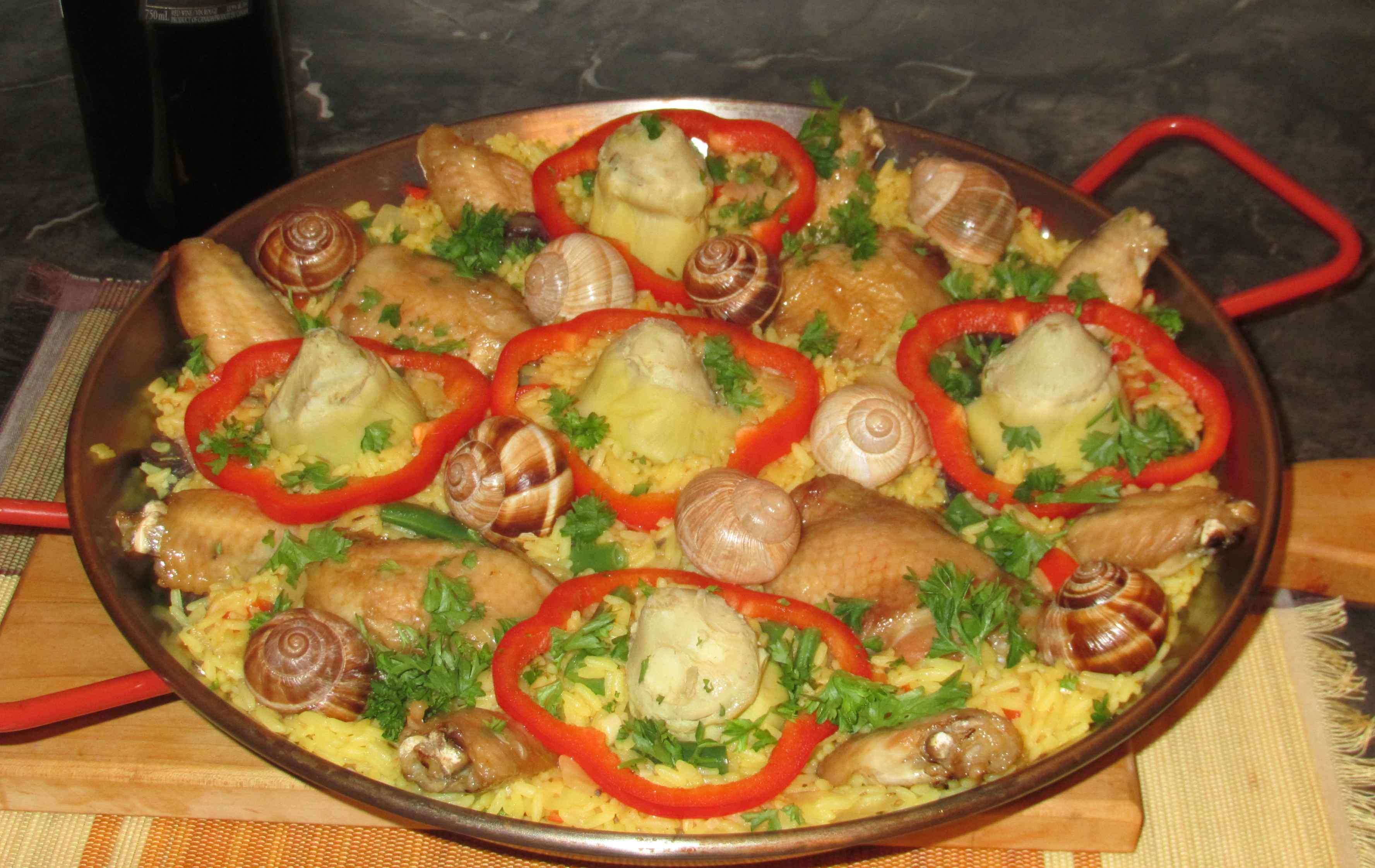 Испанская кухня рецепты с фотографиями