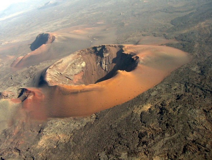 вулканический остров Лансароте