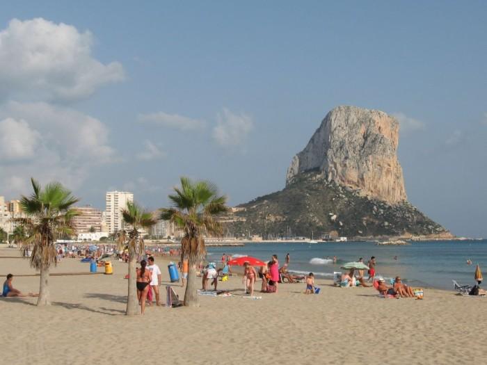 Пляж Кальпе Испания