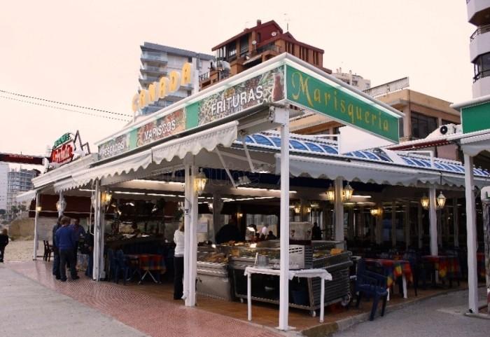 Ресторан Кальпе Испания