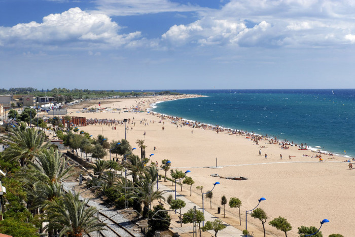 Пляжи Мальграт де Мар