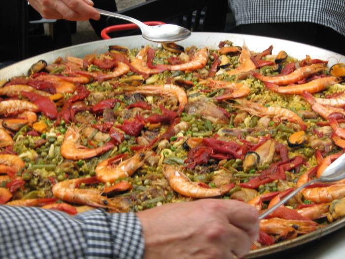 fotos-paella-española-mariscos