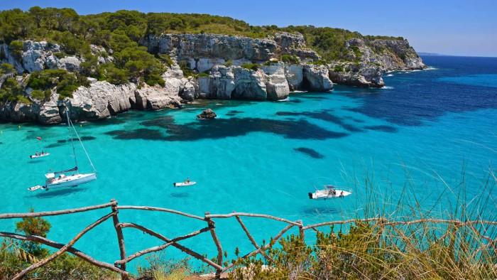 Остров Менорка Испания